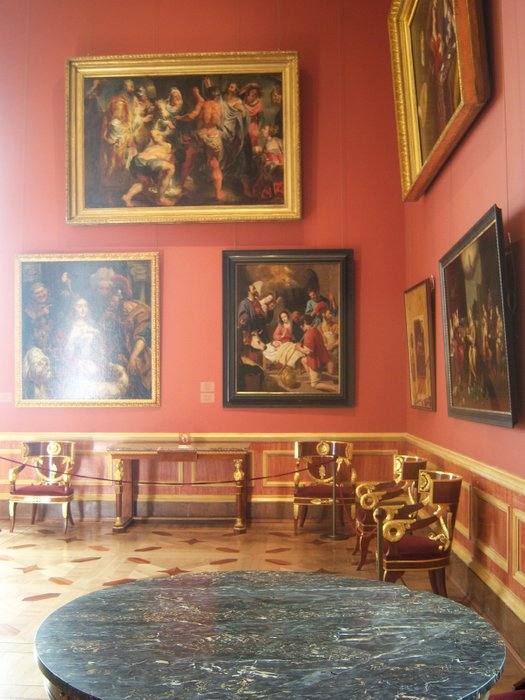 The majestic paintings of the Hermitage