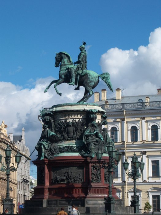 Monument to the Russian Emperor Nicholas I