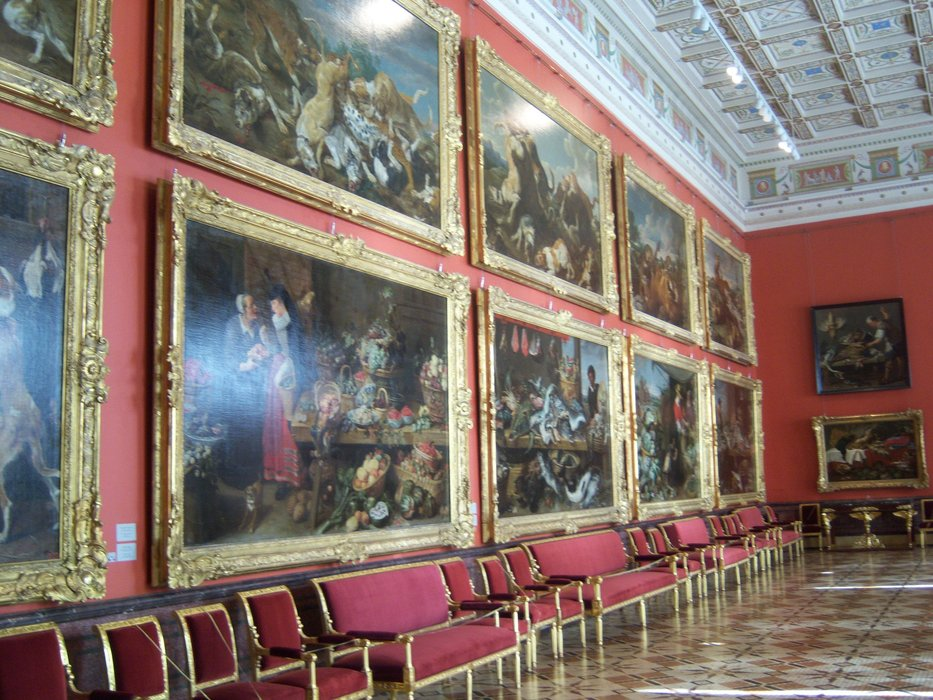 Art Gallery in the Hermitage