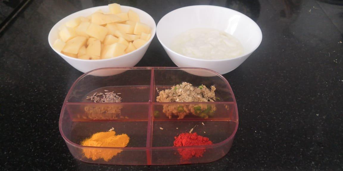 potato Idly recipe ingredients