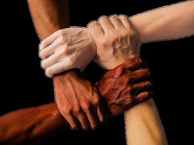 Hand, United, Together, People, Unity, Team, Teamwork