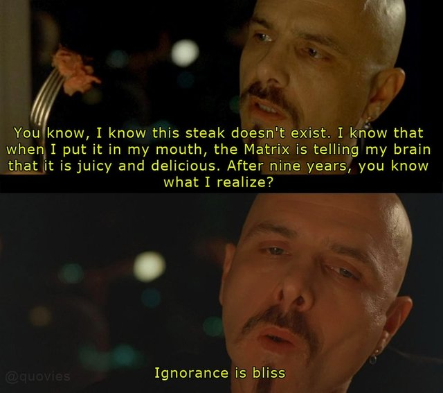 Ignorance Is Bliss