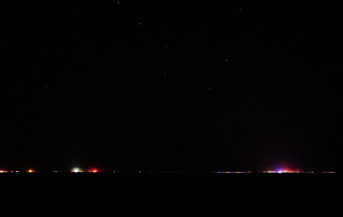 Black Rock City at Night - ISO 5000 f/5.6 20 sec 20mm