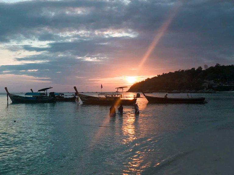 Sunset from Koh Lipe