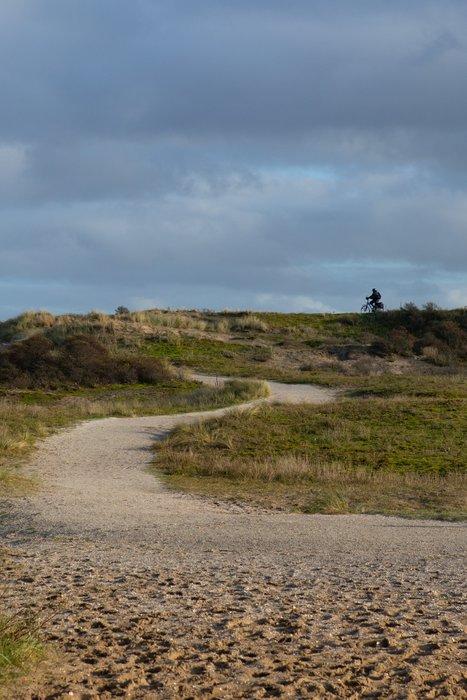 Bike and hike paths