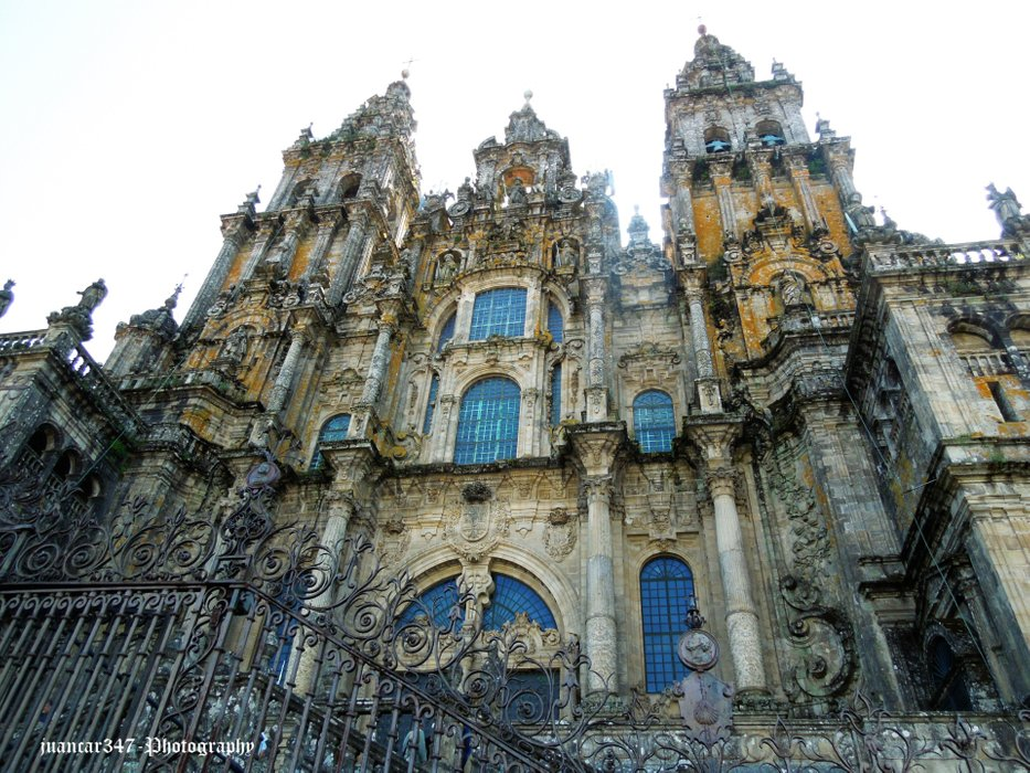Front view of the cathedral