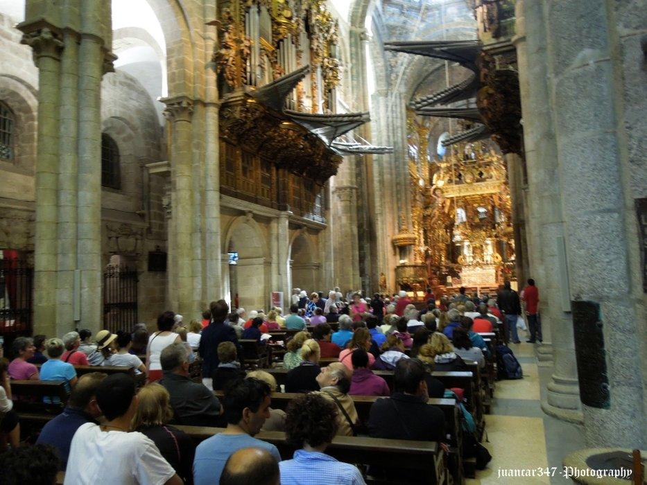 Mass in honor of the German pilgrims