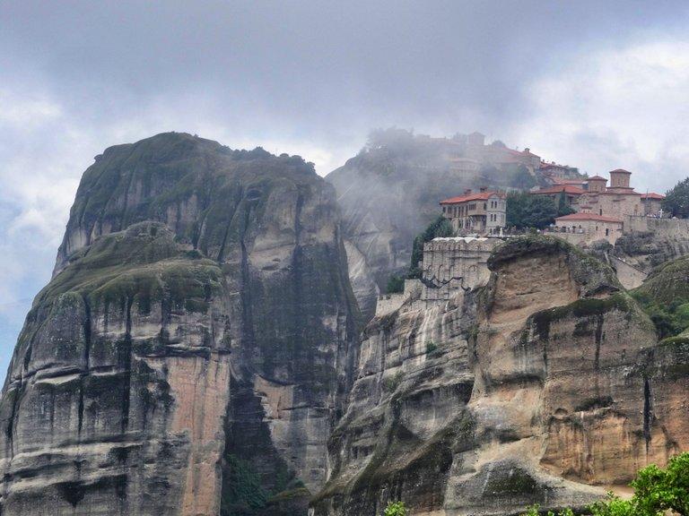 Fog and floating monasteries