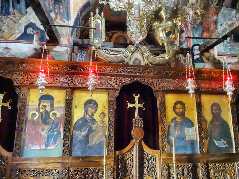 Icons, hundreds of years old