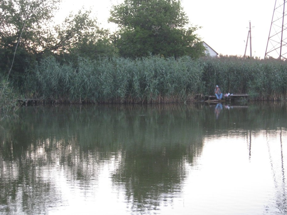Recreation and fishing in the Podolsky district of Odessa region