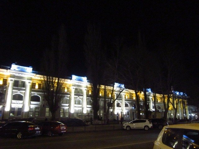 Railway station of the city of Odessa
