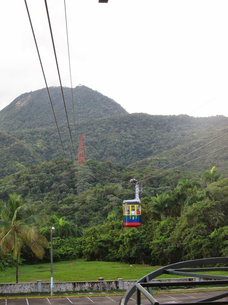 kolejka linowa na Pico Isabel de Torres