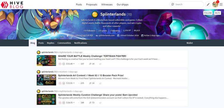earn money playing splinterlands hive blockchain