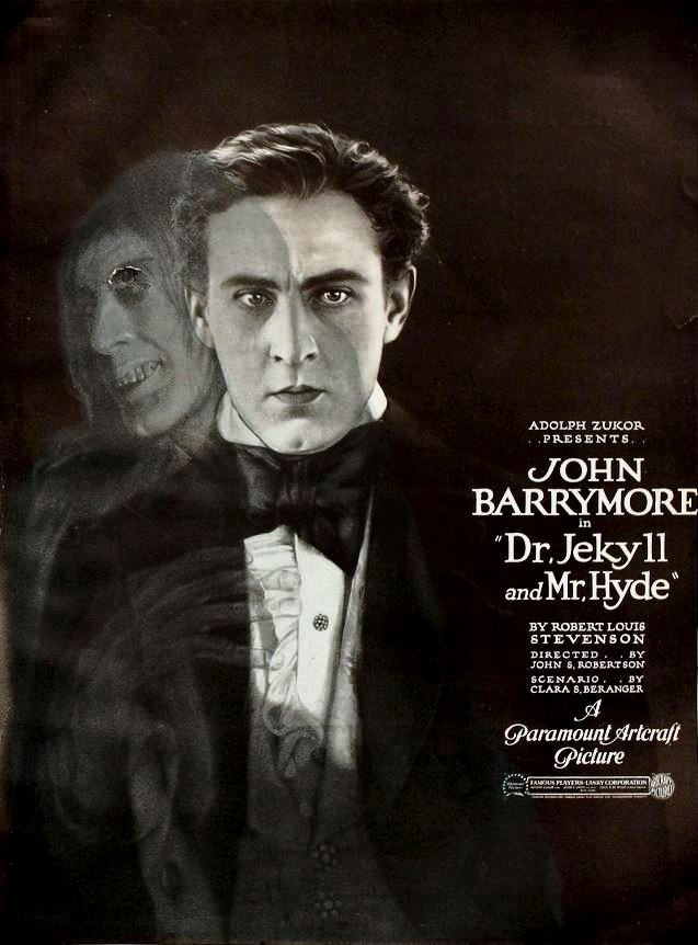 Dr. Jekyll and Mr. Hyde 1920 Famous PlayersLasky Corporation   Paramount  Artcraft free.jpg