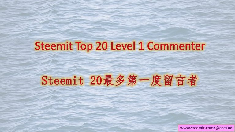 HEADER-Top 20 Commenters