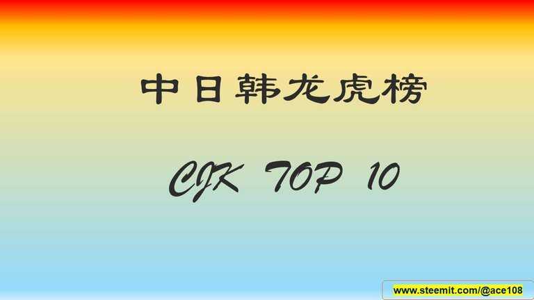 HEADER-CJK Top 10