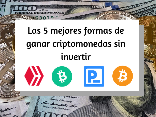 Top 5 ways to earn cryptocurrencies without investing (1).png
