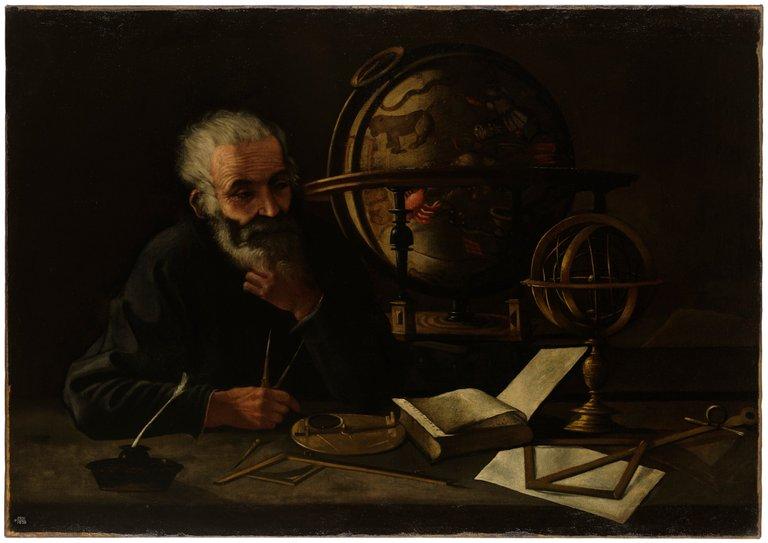 A_philosopher_with_a_celestial_globe._Wellcome_L0051763.jpg