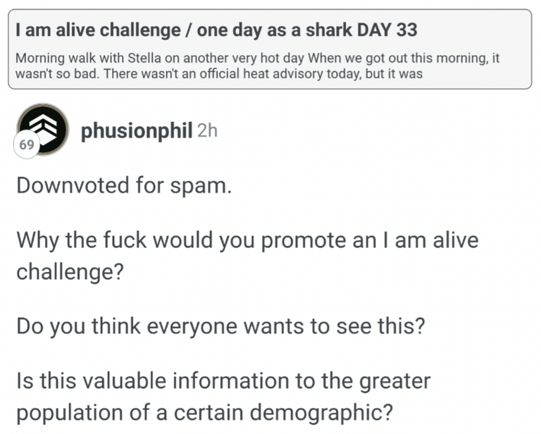 Phusion Phil would like to speak to my manager!