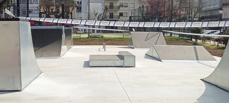 Center view of the Skatepark
