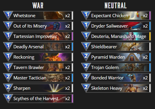 Slayer War decklist.png