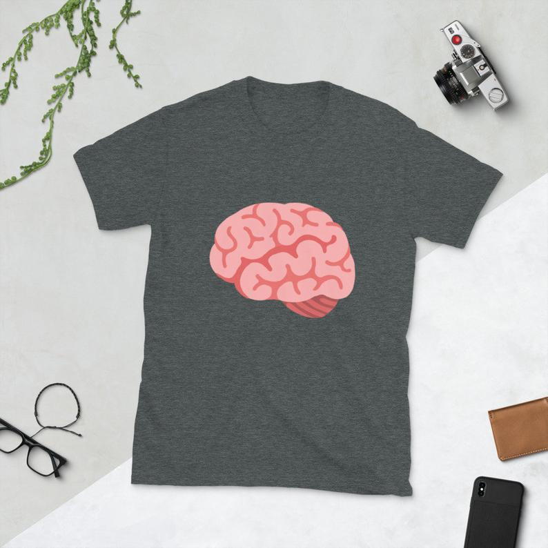 Proof of Brain 🧠 PoB Short-Sleeve Unisex T-Shirt - Now Available in the Shop - 5 Different Color Options