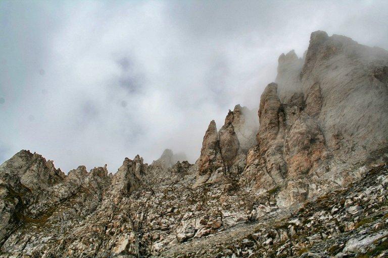 The Olympus massif