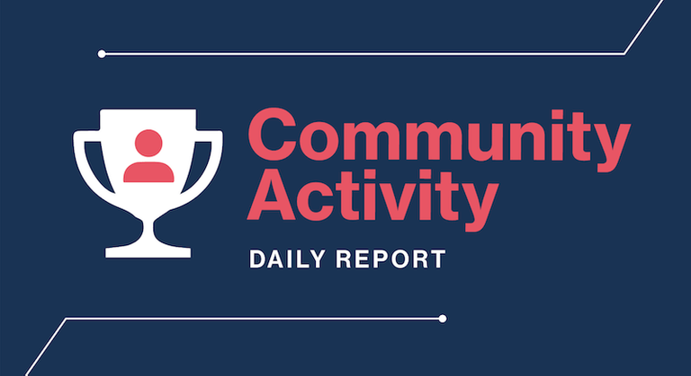 SteemSmarter Daily Community Activity Winners