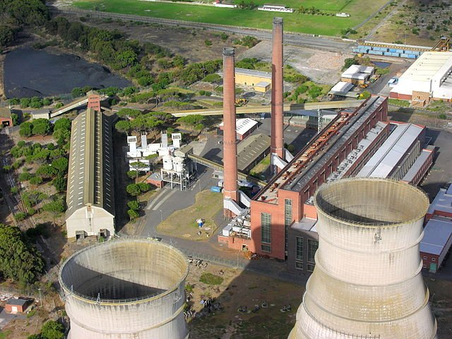 The Athlone Power Station in Cape Town, South Africa