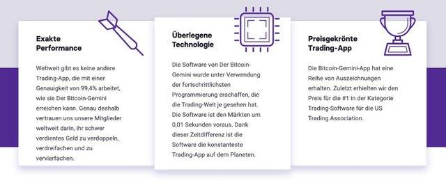 Bitcoin Gemini Vorteile