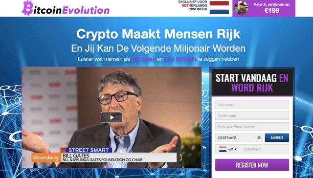 Bitcoin Evolution Ervaringen & Reviews