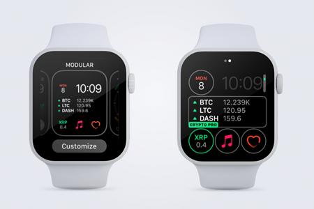 apple watch cryptocurrency proportfolio