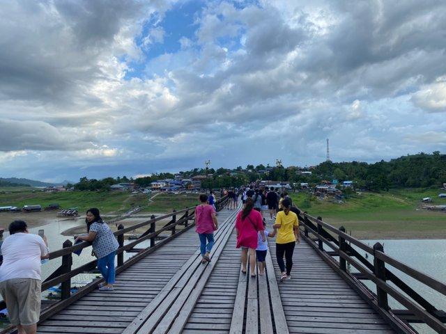 On the Mon bridge