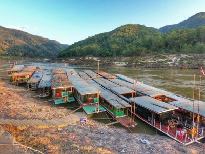 Celebrating a Quiet New Year in Pakbeng, Laos