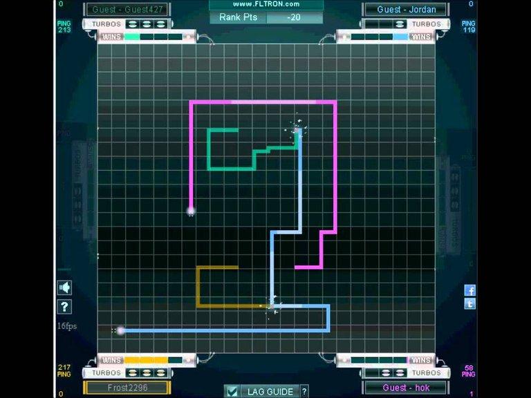 Tron game