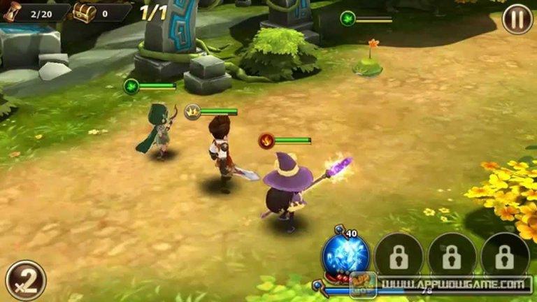 RGP Game with magic spells