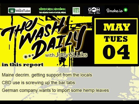 THE WASH DAILY with Joey SLLiks CANNABIS NEWS REPORT Every body loves Parody, especially the Lawyers