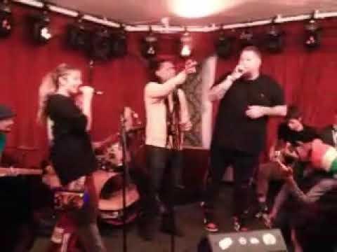 (Rag'n'Bone Man!!) - freestyle live jam @ Magic Garden LDN 5thAug2021.