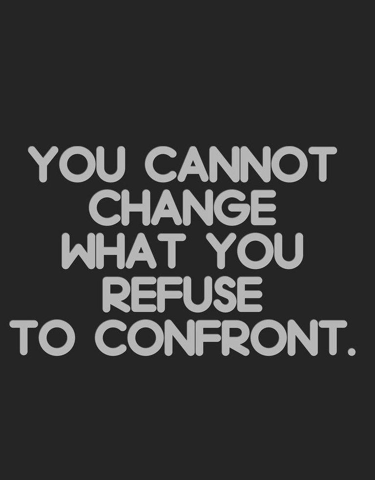 Refuse to confront