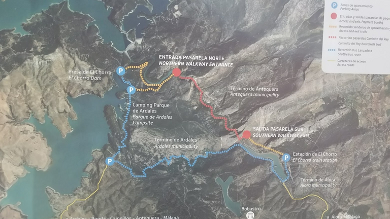 Ścieżka / The Route map