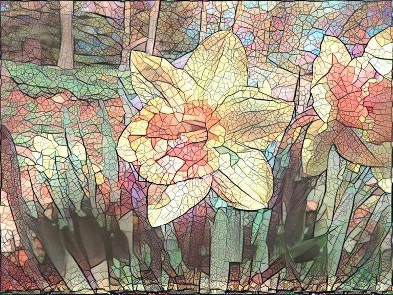 Five Funky Flower Filtered Fotos