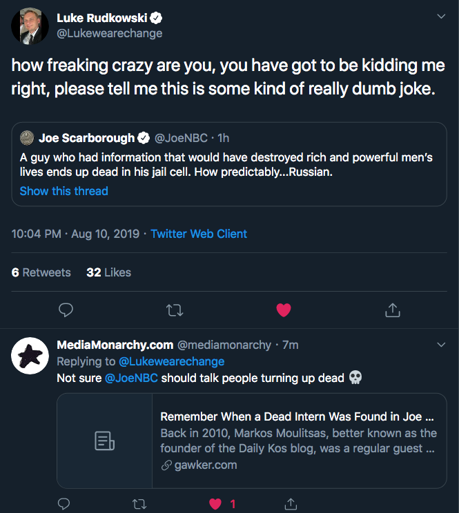1  Luke Rudkowski on Twitter   how freaking crazy are you  you have got to be kidding me right  please tell me this is some kind of really dumb joke. https   t.co h97yy9ynCx    Twitter.png