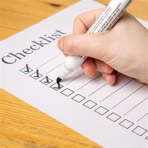 Checklist: An important reminder for teachers
