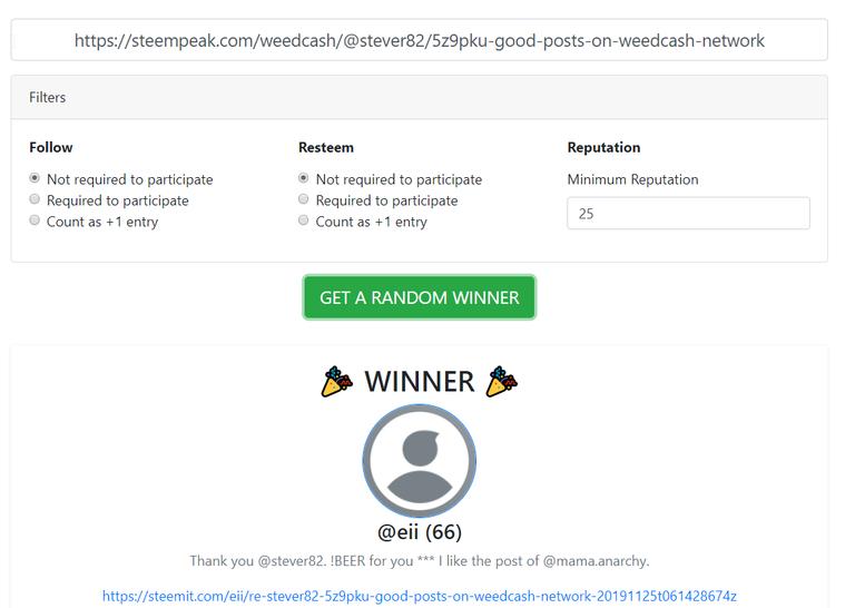 20191203 17_07_28Steem Random Winner Picker.png