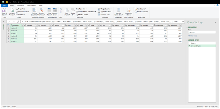 how to unpivot data in excel