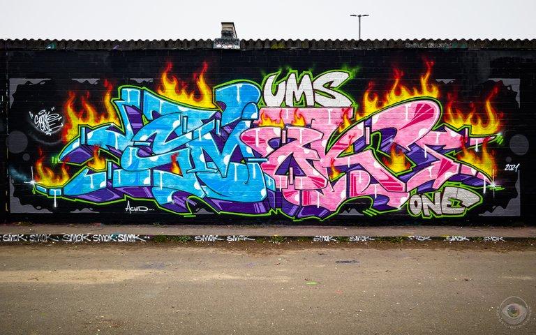 Graffiti Piece by Smok One