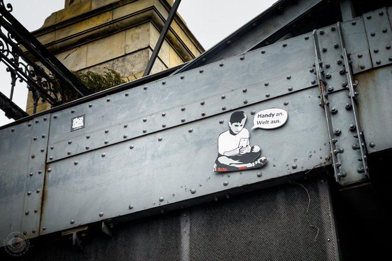 StreetArt on a Bridge