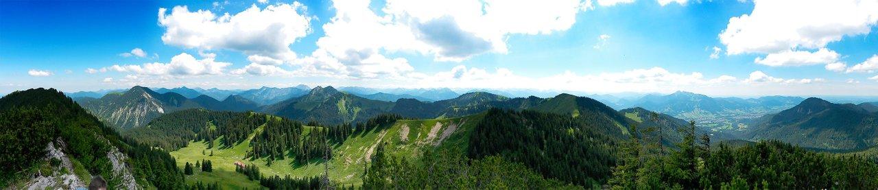 Panorama Spitzkamp