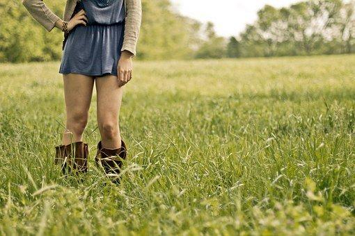Countrygirl, Girl, Legs, Woman, Female