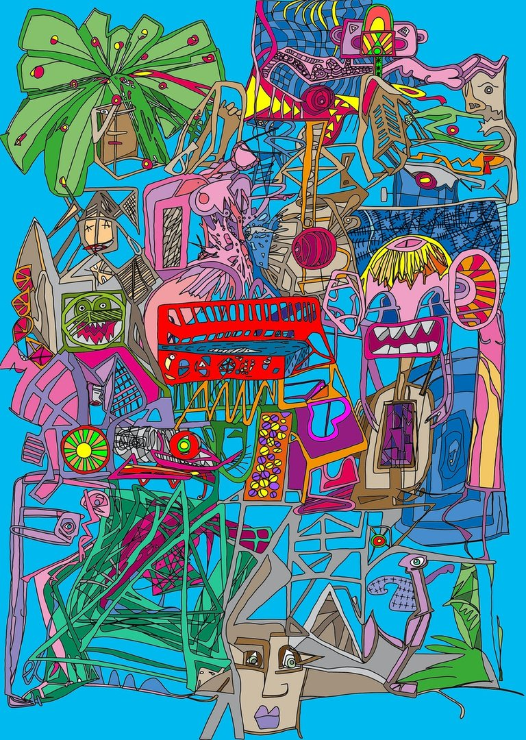 Mind Puzzle - digital art 90/20